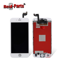 High quality mobile phone display lcd assembly+touch screen digitizer frame 6s lcd