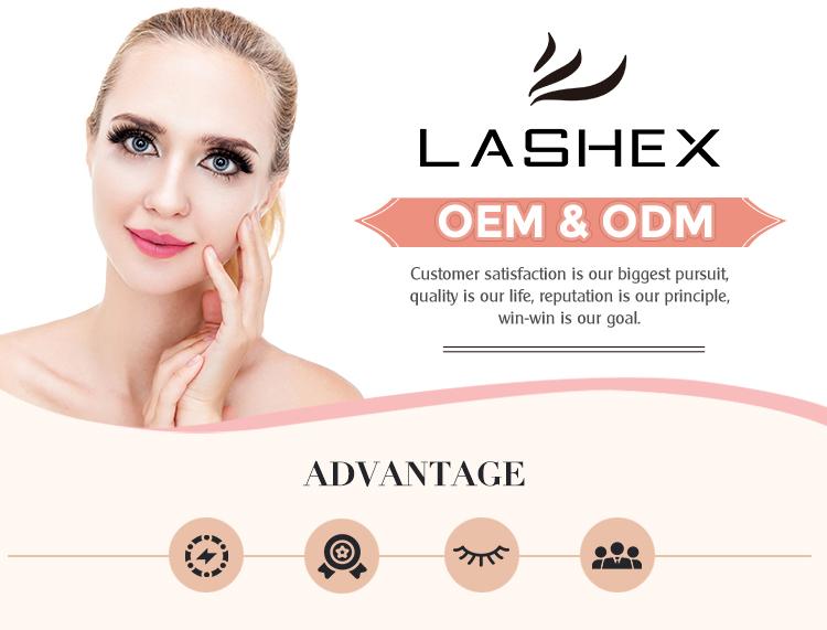 Lashex Salon Profesyonel Kullanım 0.05 D Kıvırmak Private Label Ipek pbt kore vegan kirpik uzatma