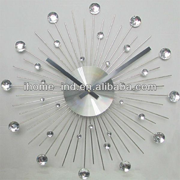 eea64453765 China fornecedor decoração relógio de parede relógio de parede 3d internet  relógio de parede