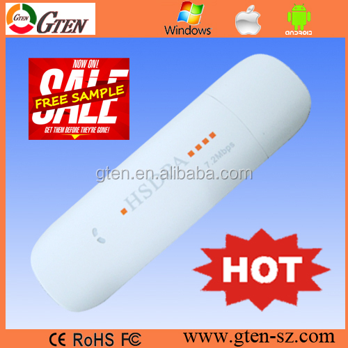 FREE Global online anytime unlimited cheap universal 3g usb wireless modem for internet 7.2Mbps