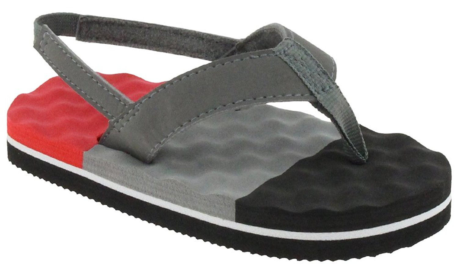 Capelli New York Color Blocked Lamy Thong Toddler Boys Flip Flops