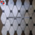 Diamond shape carrara white marble mosaic