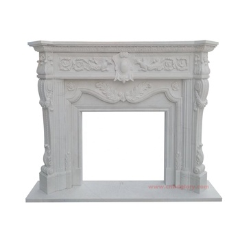 Wholesale Sale stone carving products Marble fireplace Mantel