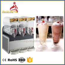Commercial Refrigerated Beverage Juice Cold Frozen Drink Dispenser Slurpee Puppy Granita Ice Slush Machine Price For Sale