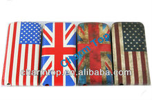 Flag Leather Case for iPhone 5