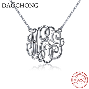 f67ee9f2ee208 Personalized Customization Jewelry 925 Silver Pendant Necklace