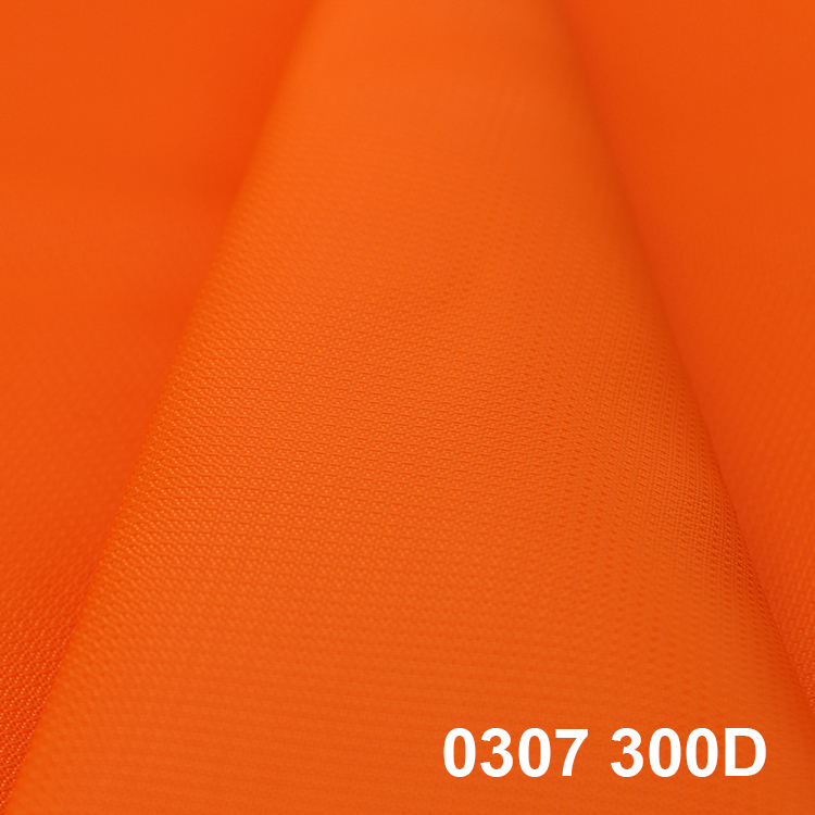 Chain dobby 0307 300D 200D*300D polyester oxford bag fabric <strong>material</strong>