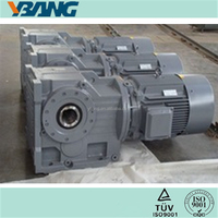 Power Transmission Bevel Helical Variable Speed Motor