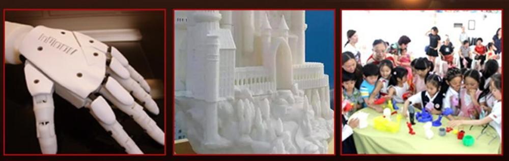 2017 Hot sale Fudream IM-D2420 digital industrial 3d printer FDM printing technique desktop pla 3d printer