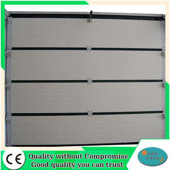 Double Finger Protection Sectional Garage Door Sizes And Prices Lowes