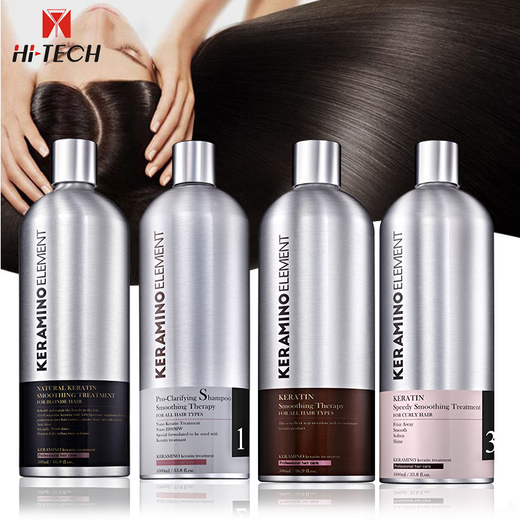 Private label professional Brazilian clarifying deep cleaning complex oem wholesale smoothing bio keratin hair shampoo