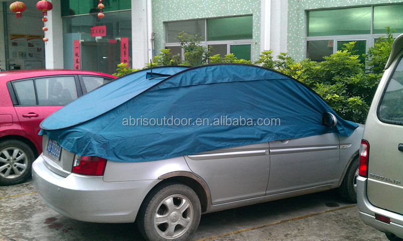 Folding Waterproof Car Cover Tent Pop Up Car Cover For 4