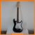 EST022 Cheap China Solid Wood Black Color Rare Electric guitars