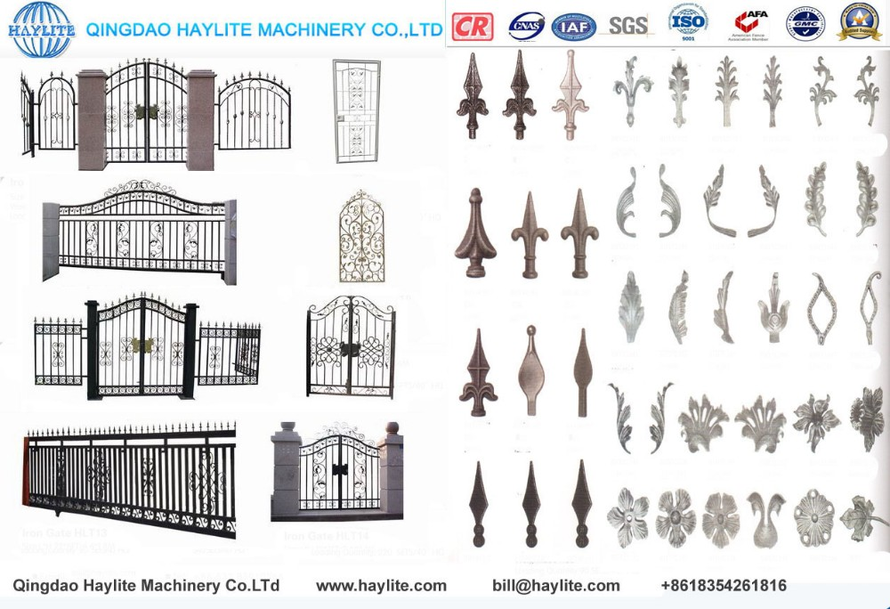 Sheet and iron mesh fence garden gate with cheap designs
