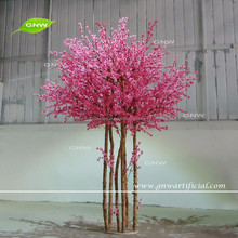 GNW BLS161026 artificial plants and trees,peach flower tree decorative for wedding