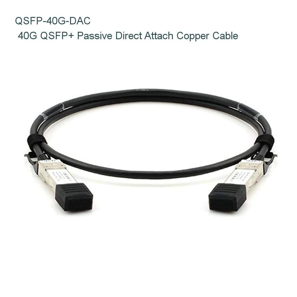 6m (20ft) Cisco QSFP-H40G-CU6M Compatible 40G QSFP+ Passive Direct Attach Copper Cable - NETCNA