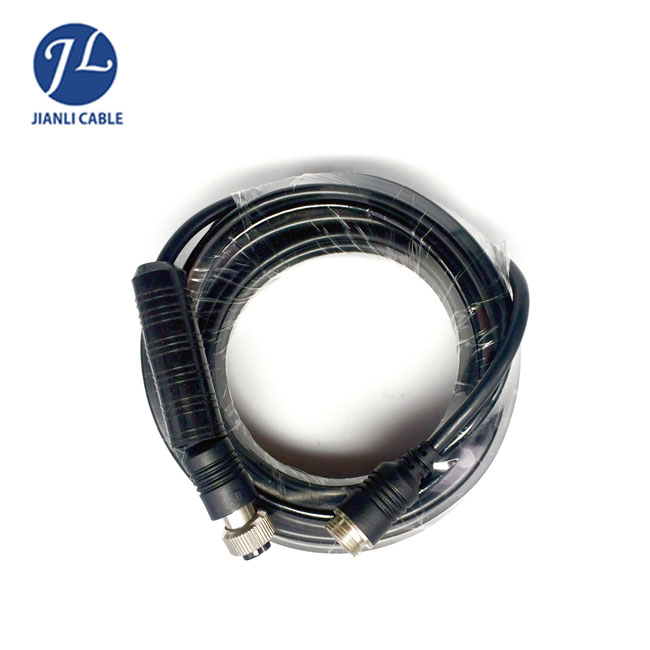 Commercial Grade 4 Pin Connect Rca Dc Cable For Agricultural Camera Kits