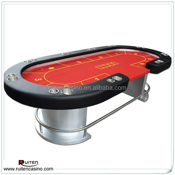 Baifumei Texas Holdu0027em Poker Table With Cup Holder And Ashtray