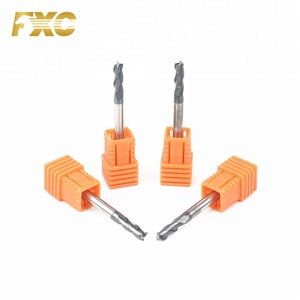 Good Quality Carbide 3 Flutes HRC45 CNC Mill Machine Cutters