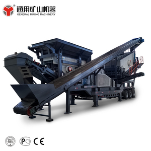 New tech hot sale movable rock stone crusher plant prices used stone crushing china goods most in demand