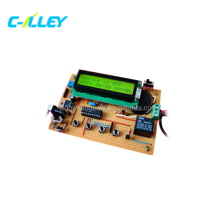 Digital Clock PCB board,Timer Digital Electronic Circuit Board with ODM & OEM service