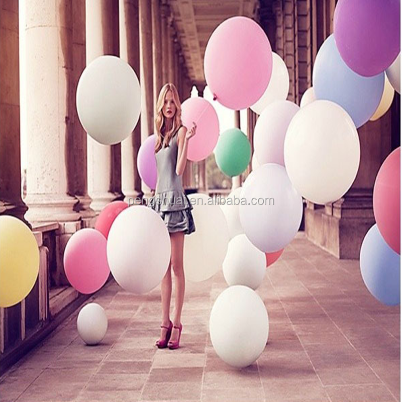 36'' oval large helium balloons inflatable balloons toy for kids