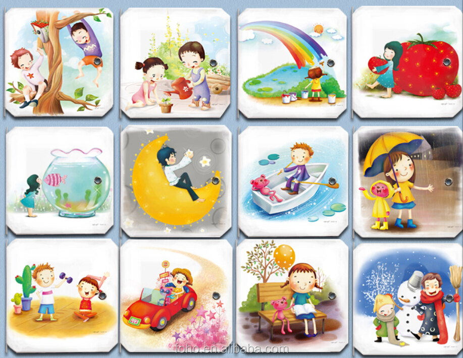 New Creative 8 Cube With Lovely 2 Cloth Hanger Colorful Kids ...