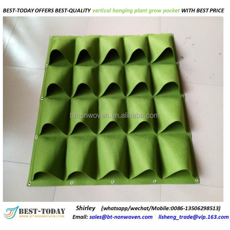 Wholesale white felt fabric grow bags,hot sale strawberry grow bags
