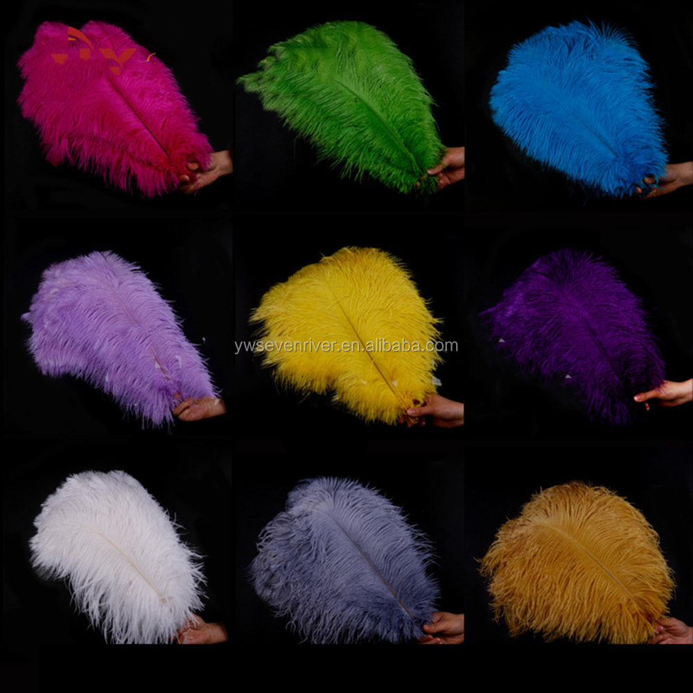 Factory Wholesale Size 40~45cm Top Quality White Ostrich Feathers