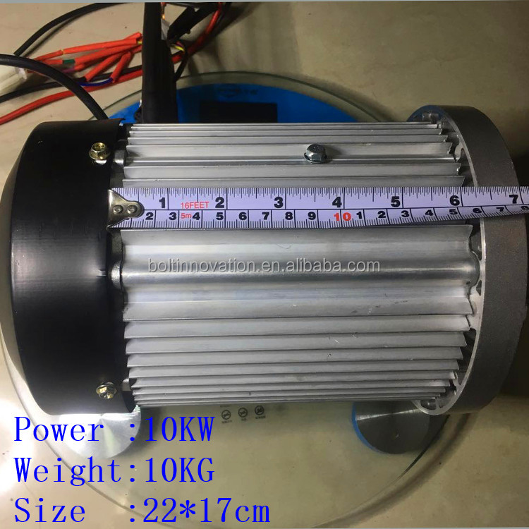 Bolt Innovation 3kw to 20KW electric Permanent Magnet Brushless DC Electric Boat motor waterproof