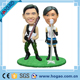 home decoration resin singer figurines custom talking bobbleheads