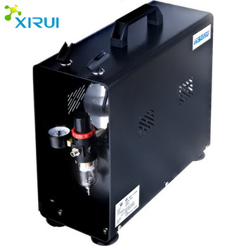 As196a Twin Cylinder Piston Airbrush Compressor Machine For Cake ...
