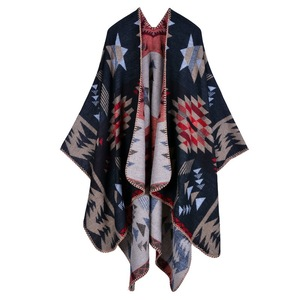 Wholesale fashion winter blanket scarf women thick pashmina shawl