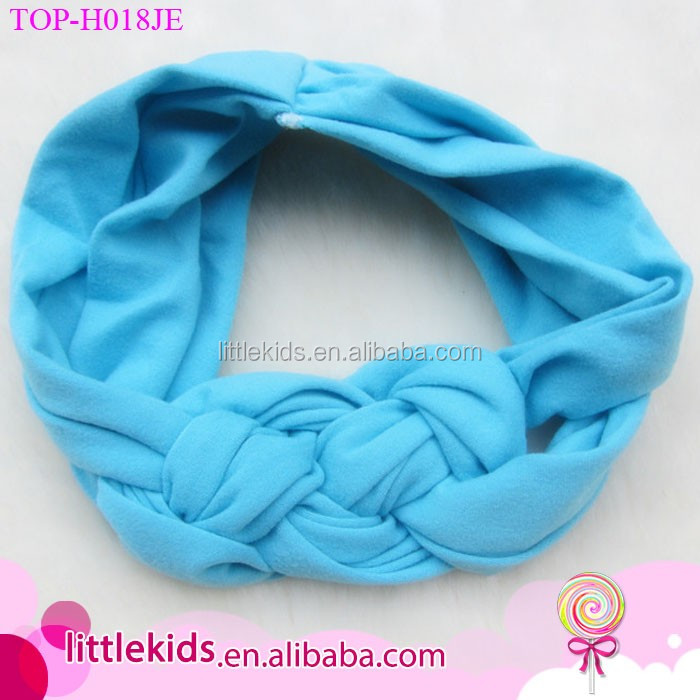 Hot Selling High Quality  Low Price Hair Accessories Kids Baby turban Headband