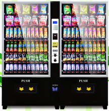 vending machine, vending machine snack and drink