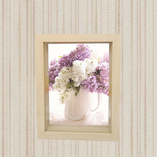 Art 3d box memorial picture frame antique MDF wood photo frame