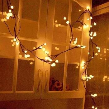 Best Selling Home Decoration 6ft LED Light Garlan Balls