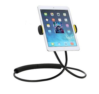 Promotional Lazy Neck Phone Holder Stand for iPhone Desk Mount Bracket for Samsung Xiaomi Flexible cellphone Holder