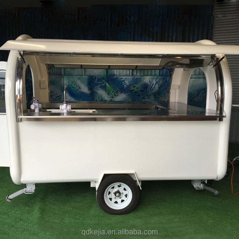 Popcorn small mobile food cart