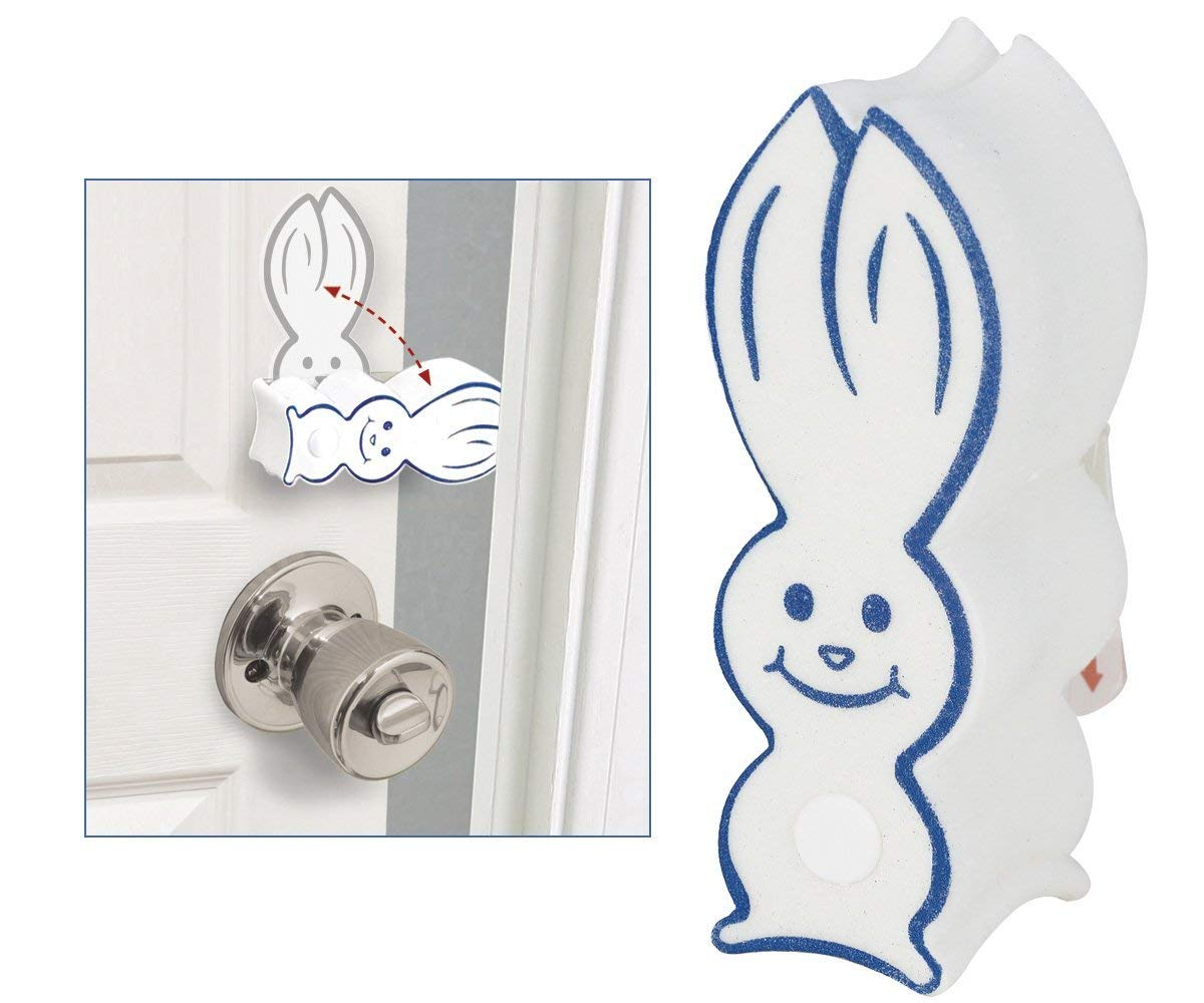 4 Pk Door Bunny Finger Safety Guard Bumper Stop. Flips On/Off. By Carlsbad Safety Products …