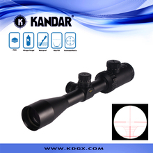 Hot sell KANDAR Tactical 3-9X40E illuminated tactical hunting collimation and united rifle scopes with lockable adjustment