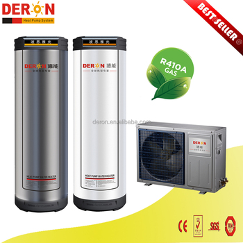 Small Residential Air Source Heat Pump With Pressure Water Tank For ...