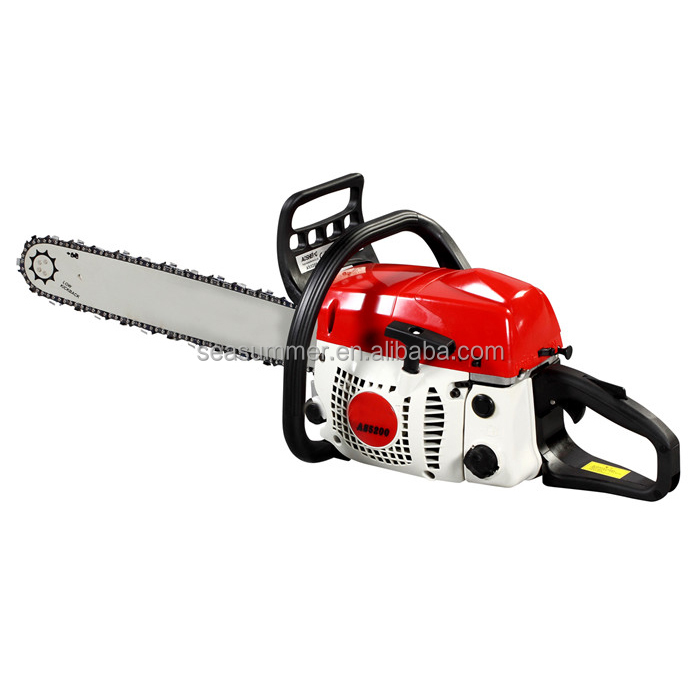 Chain saw Wood cutting machine price for 5200 gas steel petrol diamond gasoline chain saw