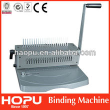 HP office and school equipment plastic a3 comb binding machine