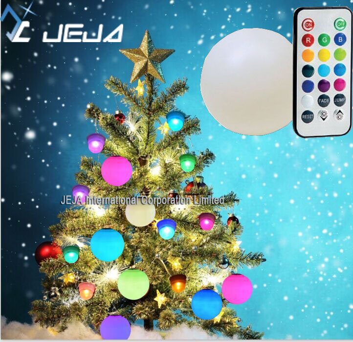 8cm hanging design glow toy <strong>ball</strong> for christmas decoration