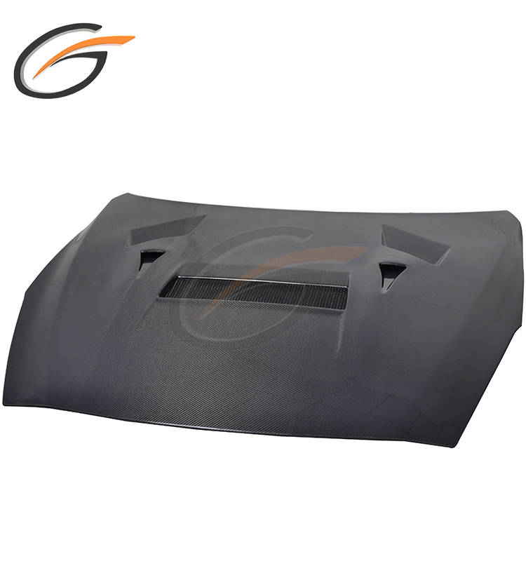 VAR STYLE CARBON FIBER ENGINE HOOD BONNET FOR NISSAN GTR R35