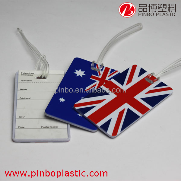 Wholesale Blank Luggage Tag,custom hotel travel airplane silicon rubber id card luggage tag