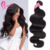 Cuticle Aligned Cyber Monday Hair From India Natural Remy Hair Bundles With Lace Frontal Extensions