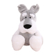 QZ ICTI Approved Toy Factory Plush Soft Toy 35cm Stuffed Schnauzer Dog