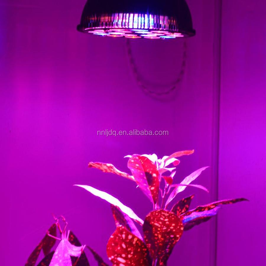 18w Rgb Led Grow Light E27 Led Bulbs Full Spectrum Uv400nm Ir730nm ...